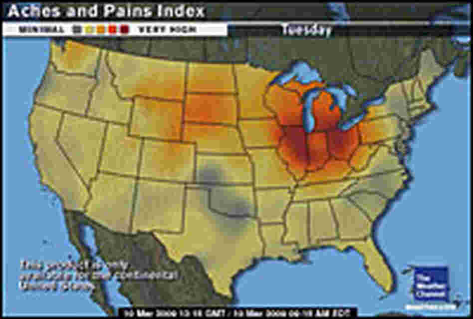 The Weather Channel's Aches and Pains Index