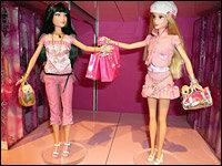 mattel hopes shanghai is a barbie world npr