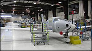 Cessna assembly line, Bend, Ore.
