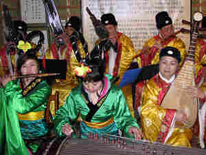 Members of the Chang'an Women's Classical Music Ensemble