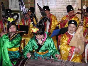 Members of the Chang'an Women's Classical Music Ensemble