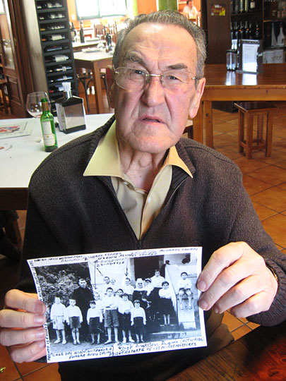 Ushenu Ablana, 79, was one of thousands of children stolen from leftist parents during the Franco er