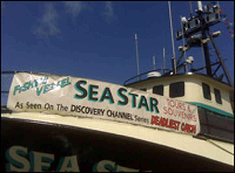 39 deadliest catch 39 boat docks in seattle npr for Fishing shows on discovery channel