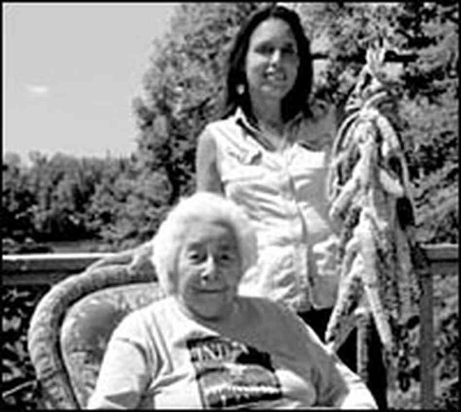 Winona LaDuke and Margaret Smith (seated)