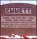 Dan Emmett headstone