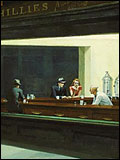 'Nighthawks' by Edward Hopper, 1942