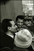 Gregory Corso, Larry Rivers and Jack Kerouac in New York City, 1959