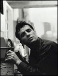 Jack Kerouac listening to himself on the radio