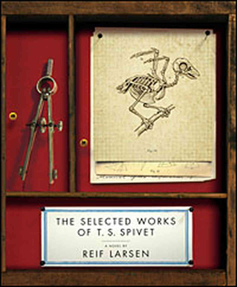 Cover: 'The Selected Works of T.S. Spivet'