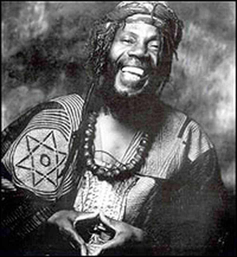 Ras Michael smiles in a publicity photo.