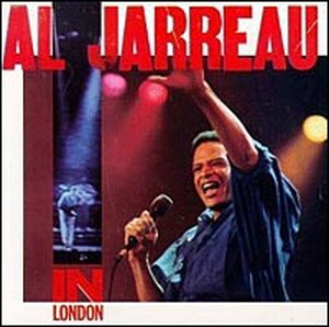Cover for Jarreau's 'Live in London'