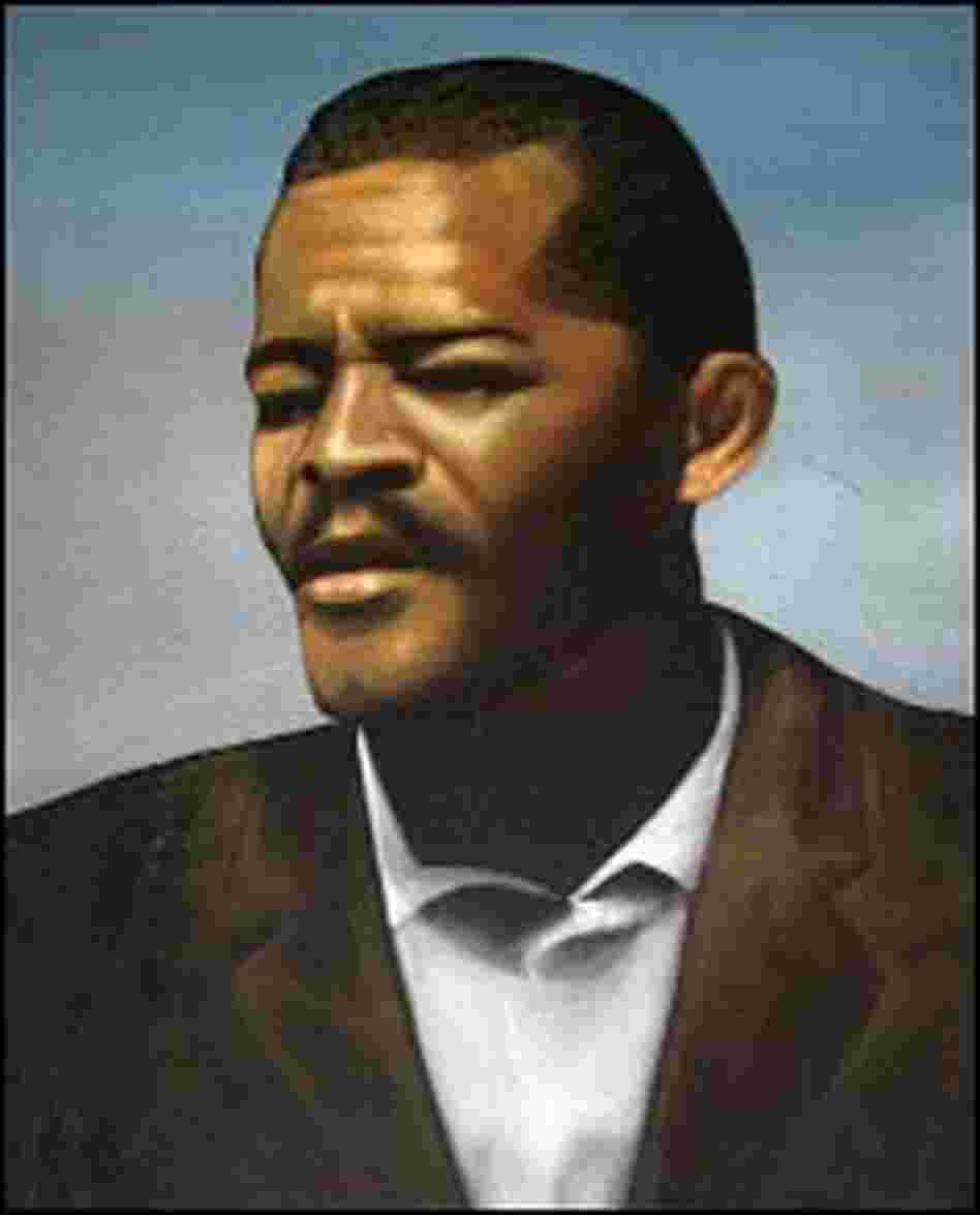 Portrait of Allah the Father, a one-time member of the Nation of Islam who split from the group in 1