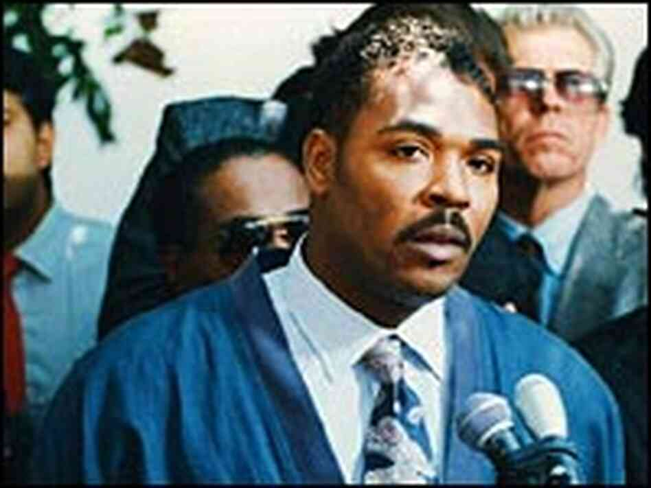 Rodney King delivers an emotional appeal calling for peace.