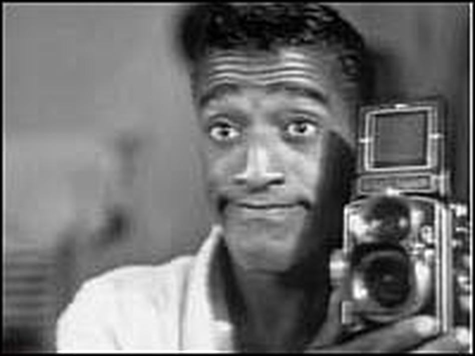 A self-portrait by Sammy Davis Jr.