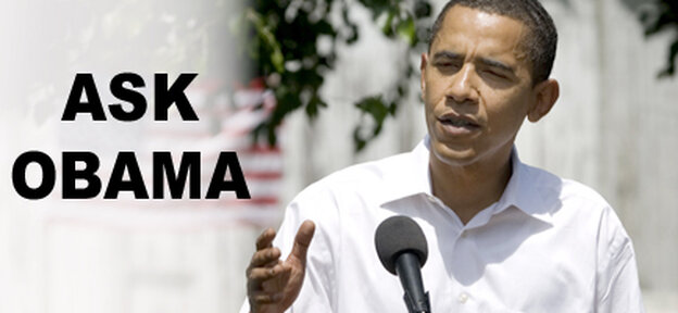 Submit a Question for Sen. Obama