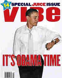 Vibe magazine cover featuring Sen. Barack Obama