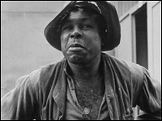 Boxer Archie Moore acting in the film, The Adventures of Huckleberry Finn. (Time Life Pictures/Getty Images)