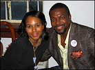 Actress Kerry Washington and actor Chris Tucker