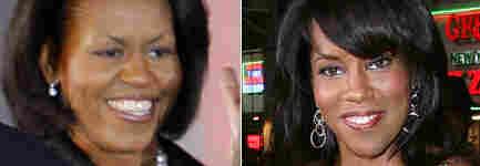 Michelle Obama and Regina King