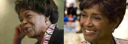 Marian Robinson and Margaret Avery