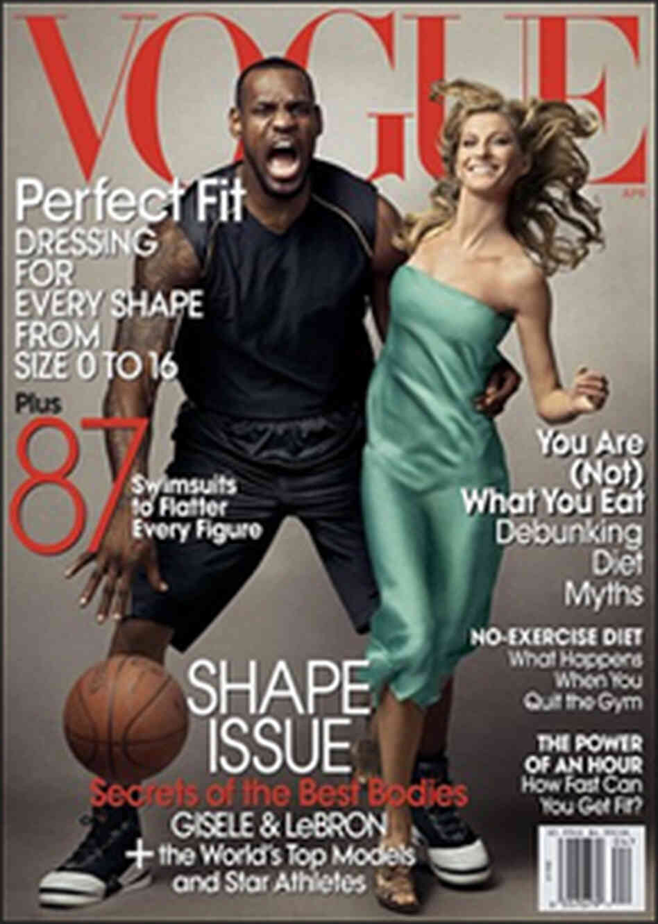 Lebron James and Gisele Bundchen