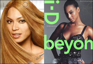 Beyonce Side by Side