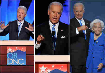 Bill Clinton and Joe Biden / Credit: Getty Images
