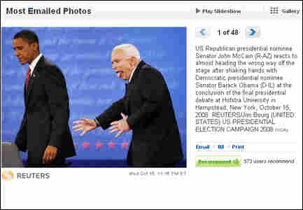 Screen grab of Reuters photo page