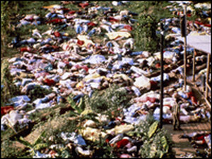 aftermath of the Jonestown