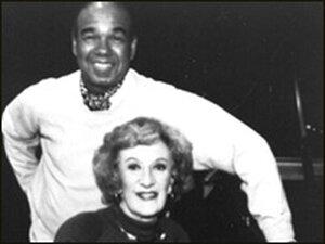 Bobby Short and 'Piano Jazz' host Marian McPartland