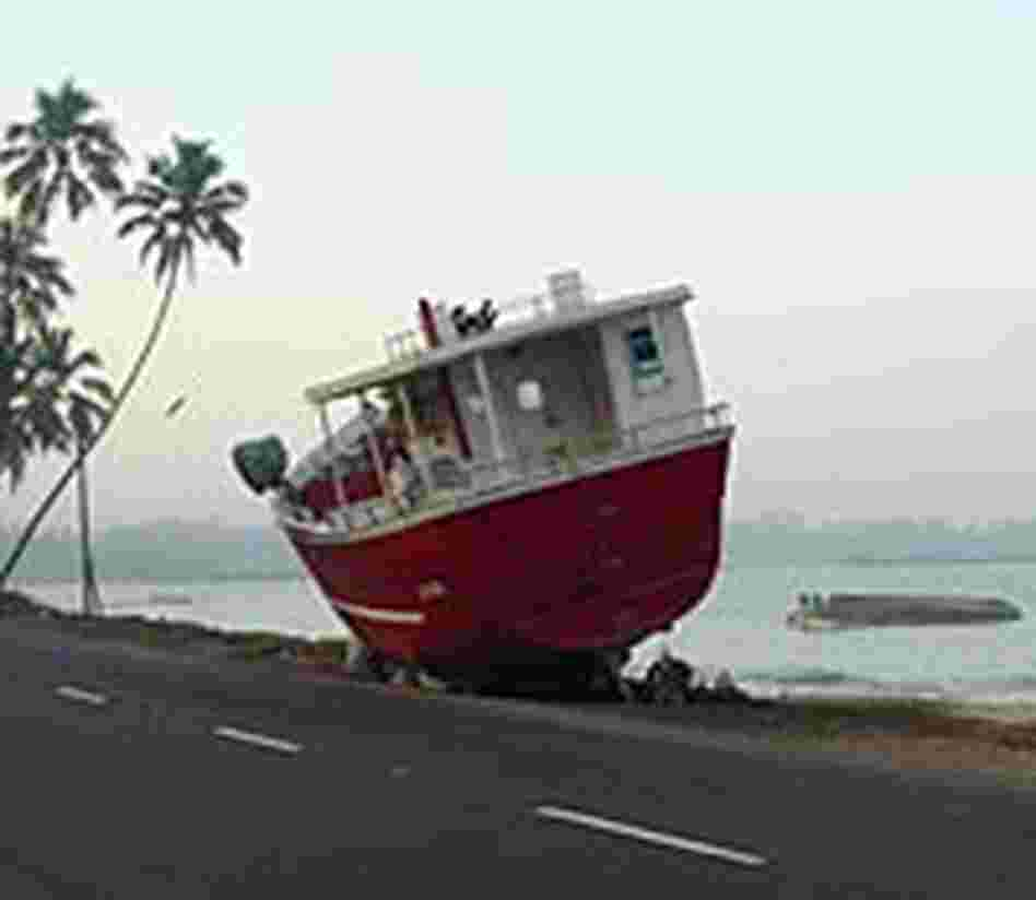A common sight along the Sri Lankan coast