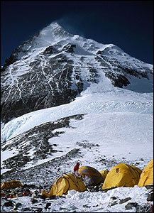 A view of Everest's summit 