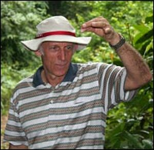 The Leuser International Foundation's Mike Griffiths, in the field.