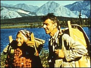 Mardy (left) and Olaus Murie, pictured here in 1956, were both passionate defenders of wild places.