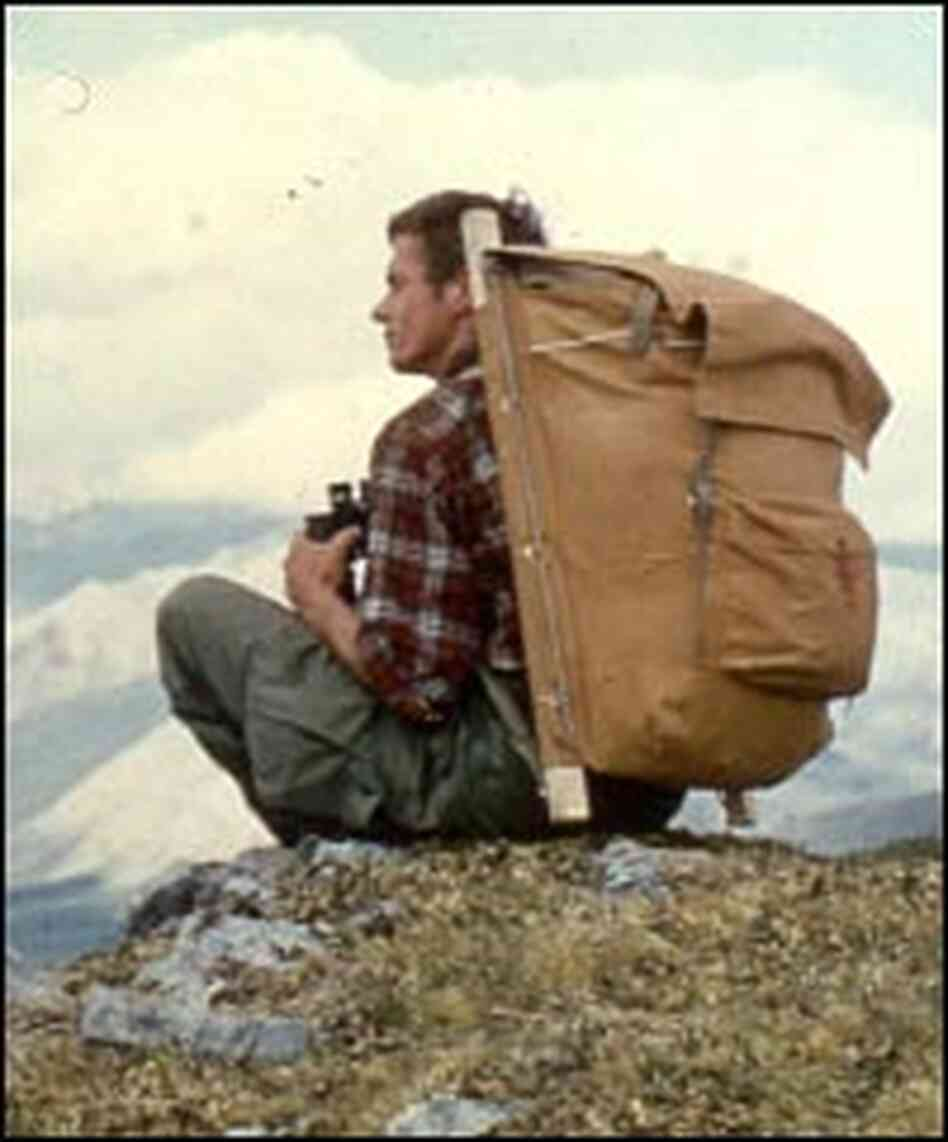 George Schaller, pictured here on the original 1956 expedition to Last Lake and the Sheenjak River
