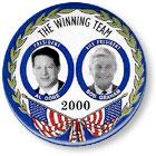 Gore-Graham 2000 campaign button