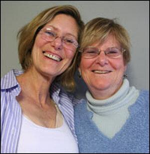 Sisters Janaki Symon and Melissa Wilbur