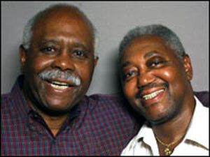 Celedonia 'Cal' Jones (left) and Robert Harris.