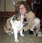 Ketzel and Bradley the Bulldog