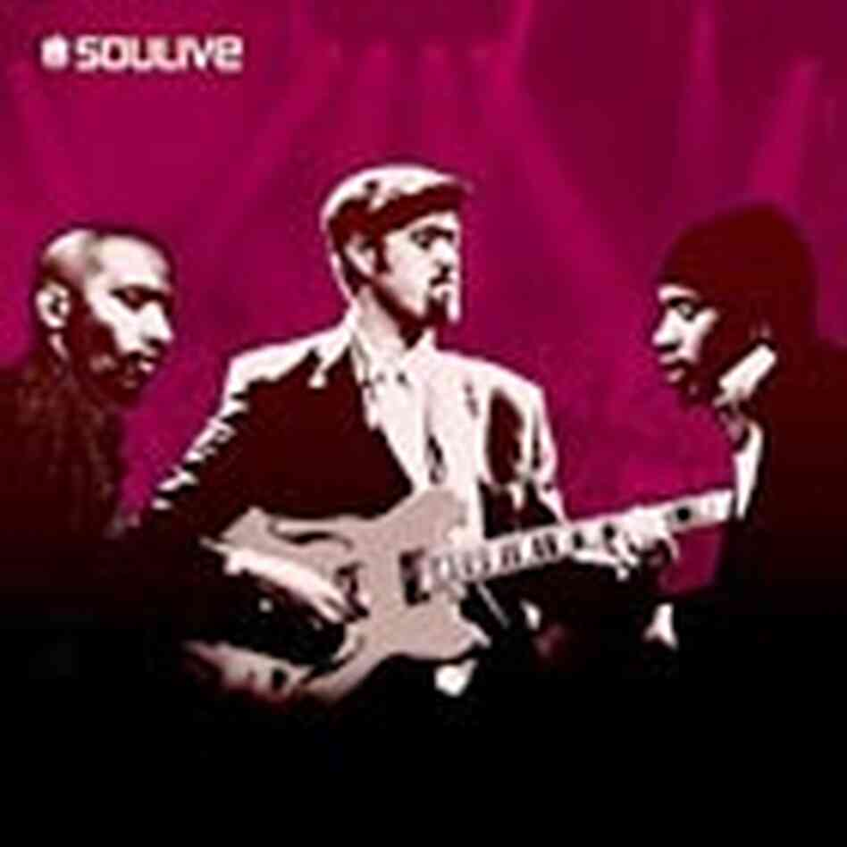 Cover of the self-titled Soulive CD