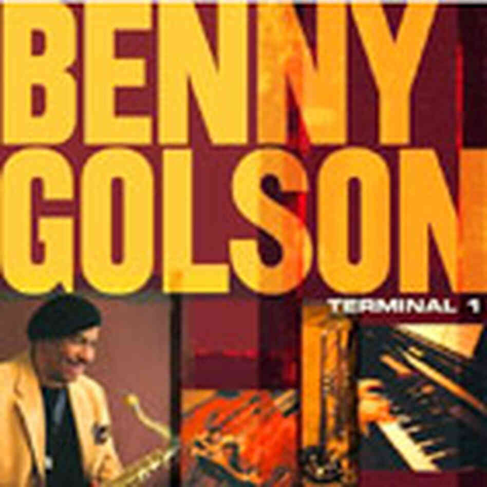 Cover of Benny Golson's CD 'Terminal 1'