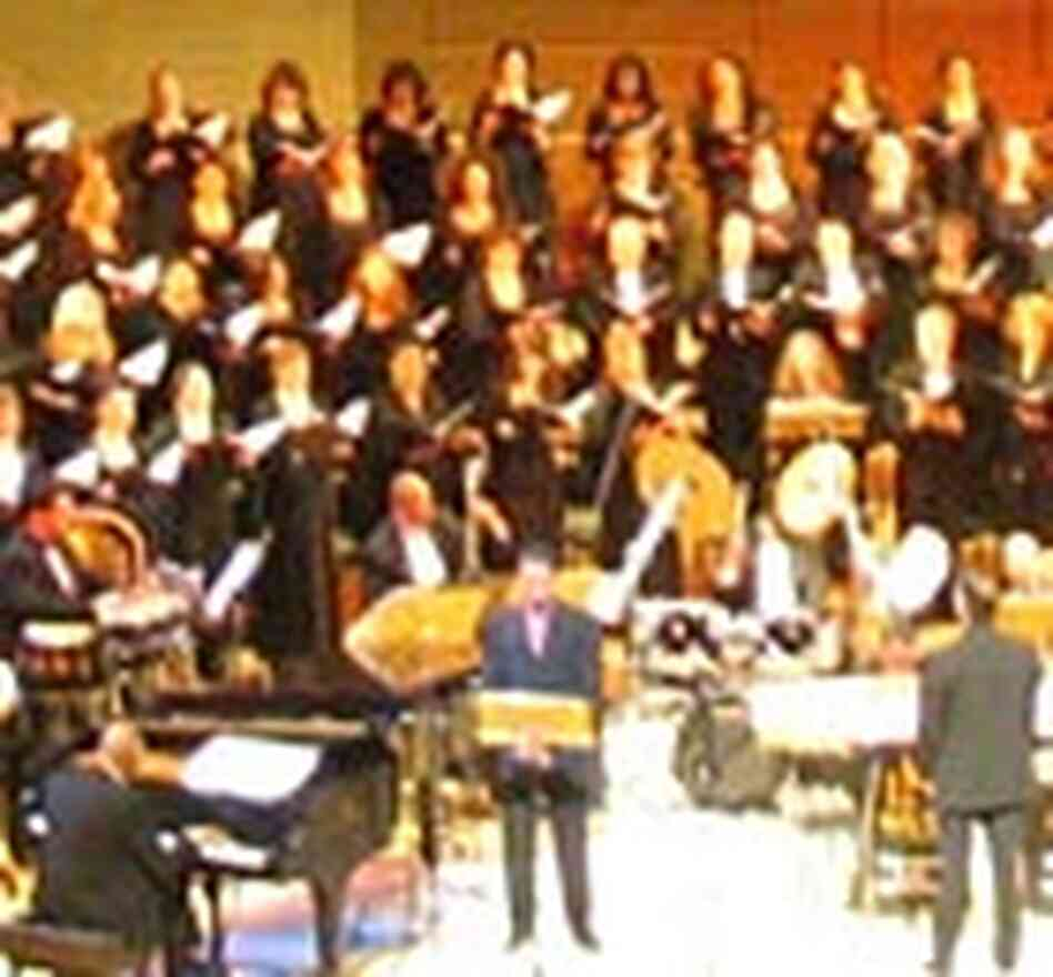 Performing Ellington's 'Second Sacred Concert' in Los Angeles, March 2004