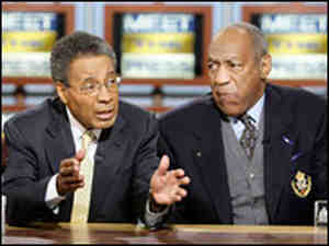 Bill Cosby and Dr. Alvin Poussaint