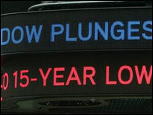 Dow falls