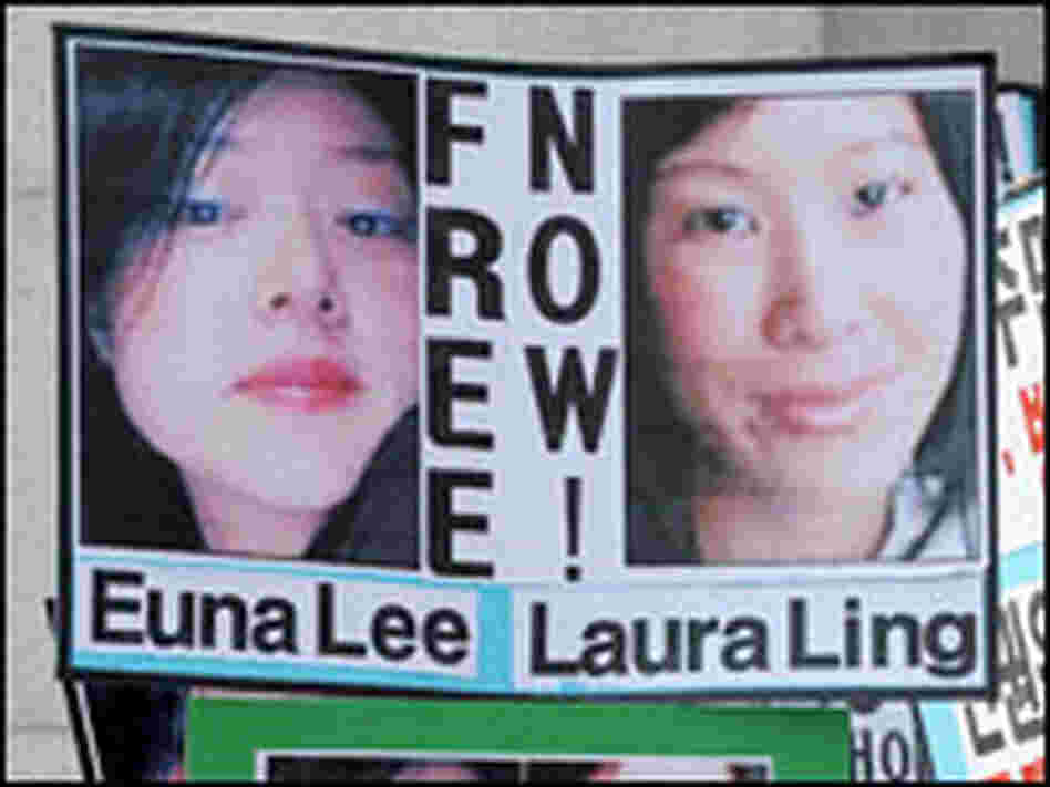 Euna Lee and Laura Ling