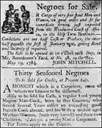 Archived slavery poster