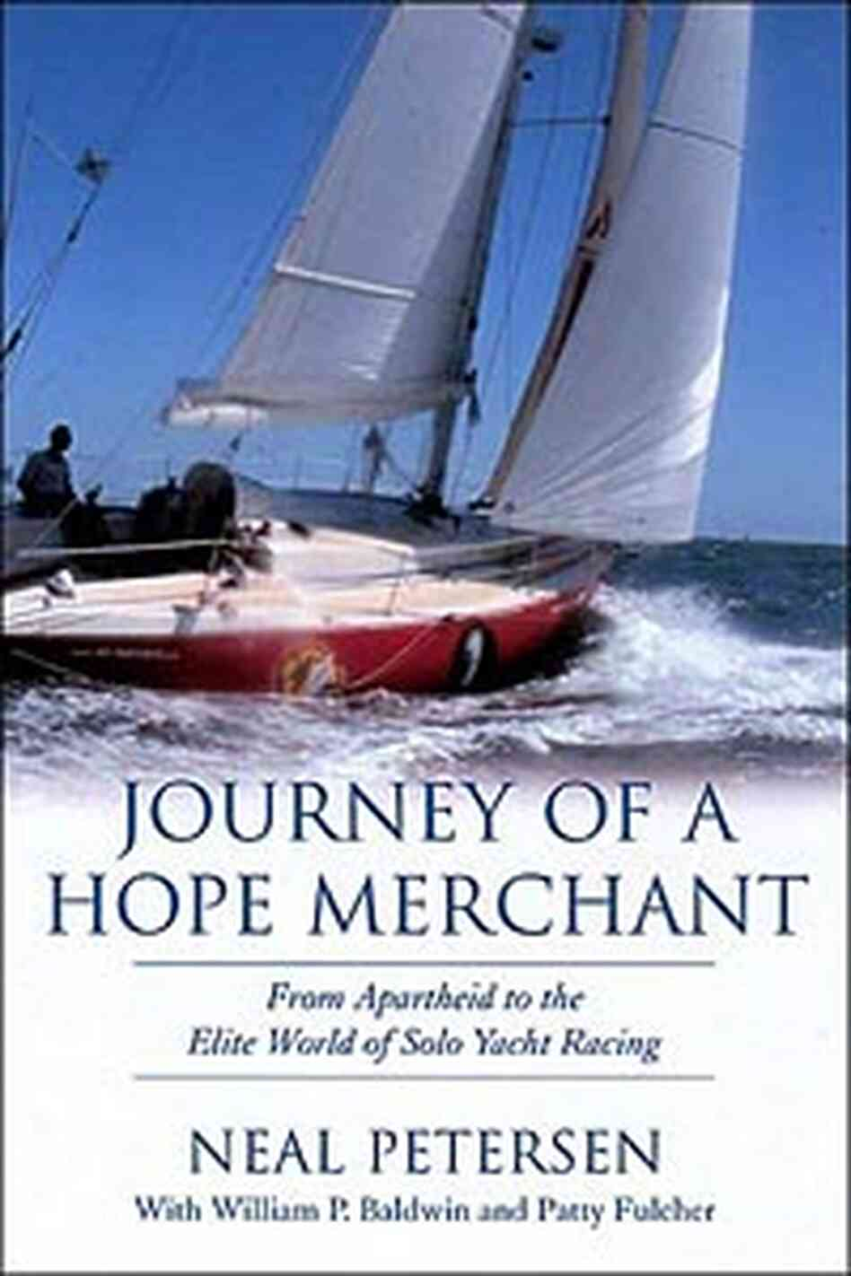 Cover for Petersen's autobiography 'Journey of a Hope Merchant'