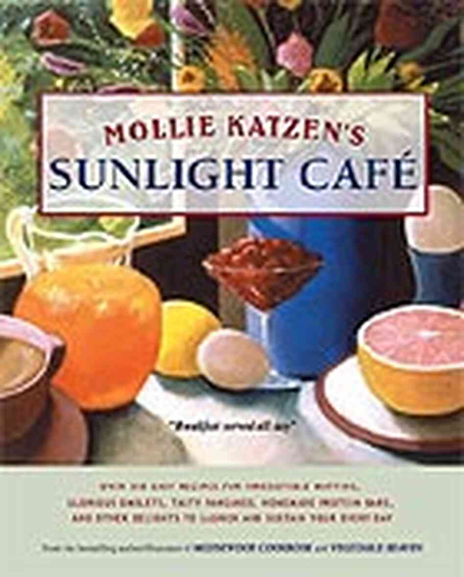 cookbook cover of Mollie Katzen's Sunlight Cafe