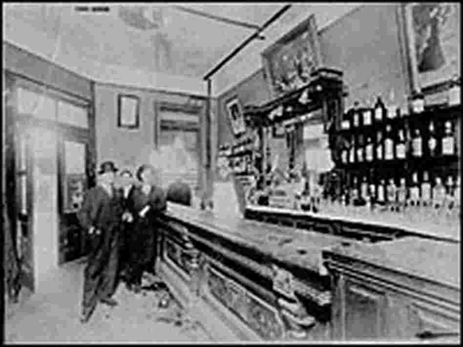 Bar at 761 Baronne St. in New Orleans Circa 1910