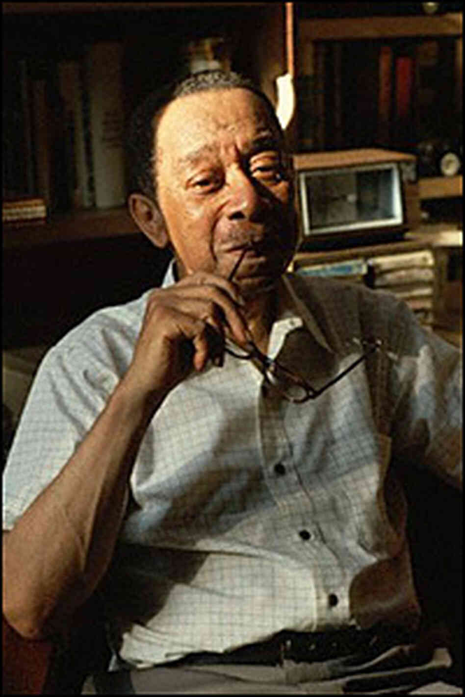 Dr. Kenneth Clark, psychologist and civil rights activist, at his home in Yonkers in 1983.